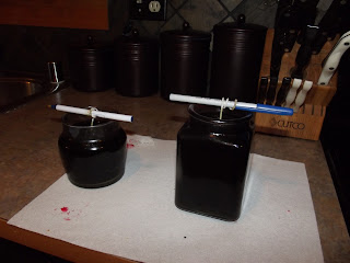 Making home made candles – 1/8/12