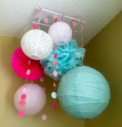 Decorating with paper lanterns event decoration trends - Decoracion de lamparas de papel ...