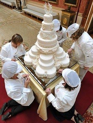 Rahena S Blog The Wedding Cake For The Royal Wedding
