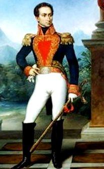 Dibujo de Simón Bolivar