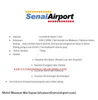 Kerjakosong Senai Airport