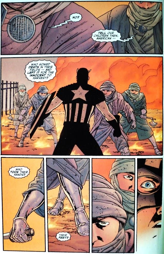 Captain America # 1, 2 3 - John Ney Rieber John Cassaday