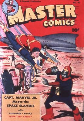 Master Comics 92 cover