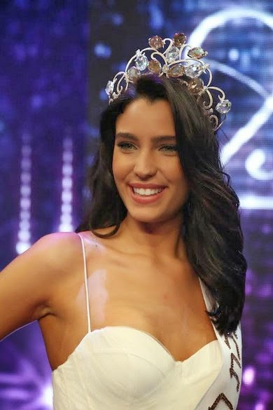 Sefaradí de 18 años es Miss Israel 2014