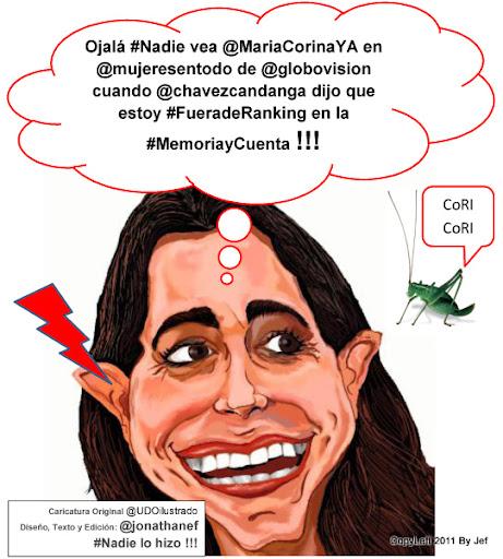 TOP 10 BLOGGER DE SOLUCIONES !!!: #Nadie vió la postura de María