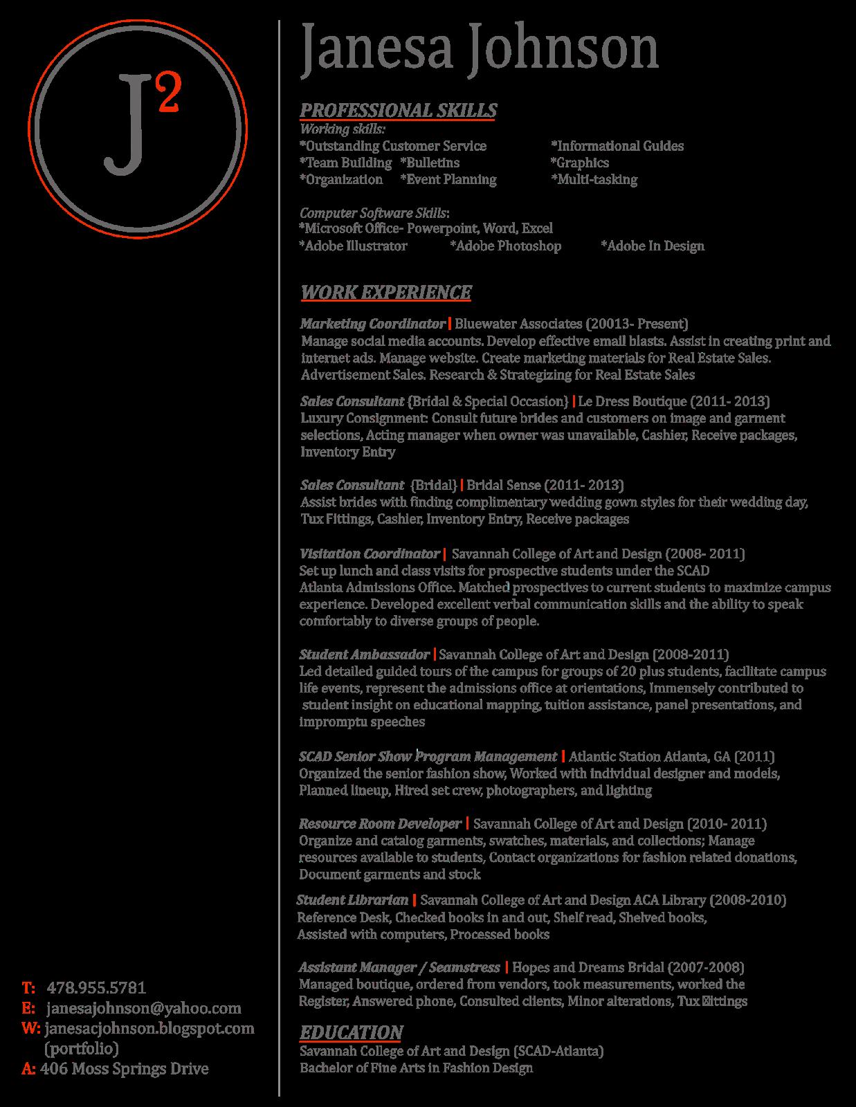 editable corporate resume 2014 png - Seamstress Resume