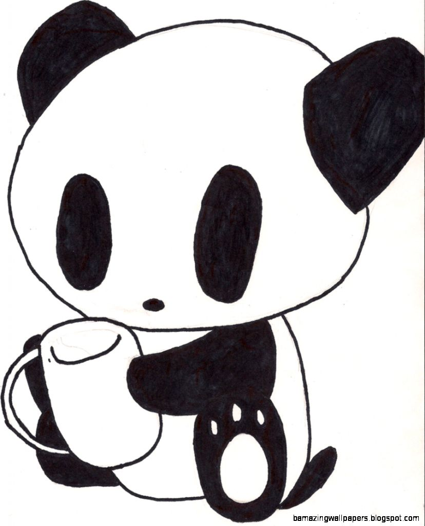 Cute Chibi Panda Bear
