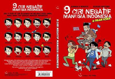 Resensi Buku 9 Ciri Negatif Manusia Indonesia #Dalam Komik