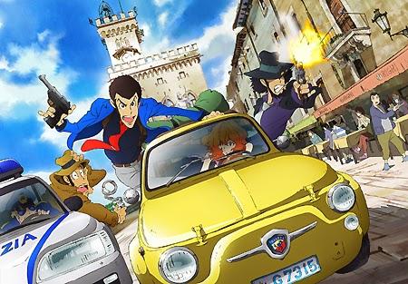 LUPIN III: LA NUOVA SERIE CON LA GIACCA VERDE IN ITALIA IN TV A MAGGIO 2015 IN ANTEPRIMA