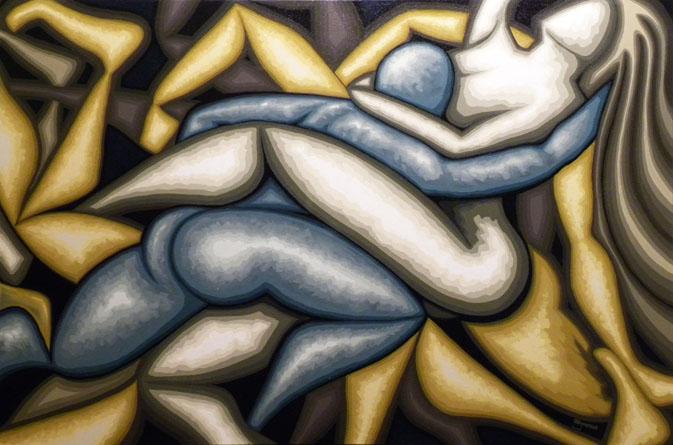 Amor Profano 100x150 2011 (venduto)