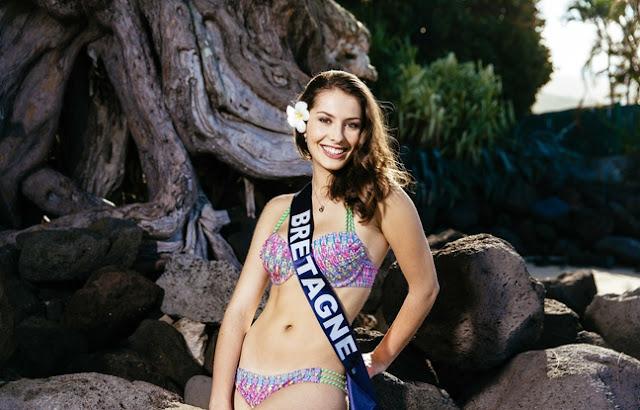 miss bretagne 2015 maillot de bain deux pièces léa bizeul