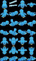 Gadget Burung Twitter Terbang