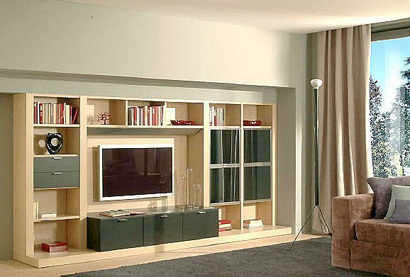 Modern Living Room Cabinets Designs