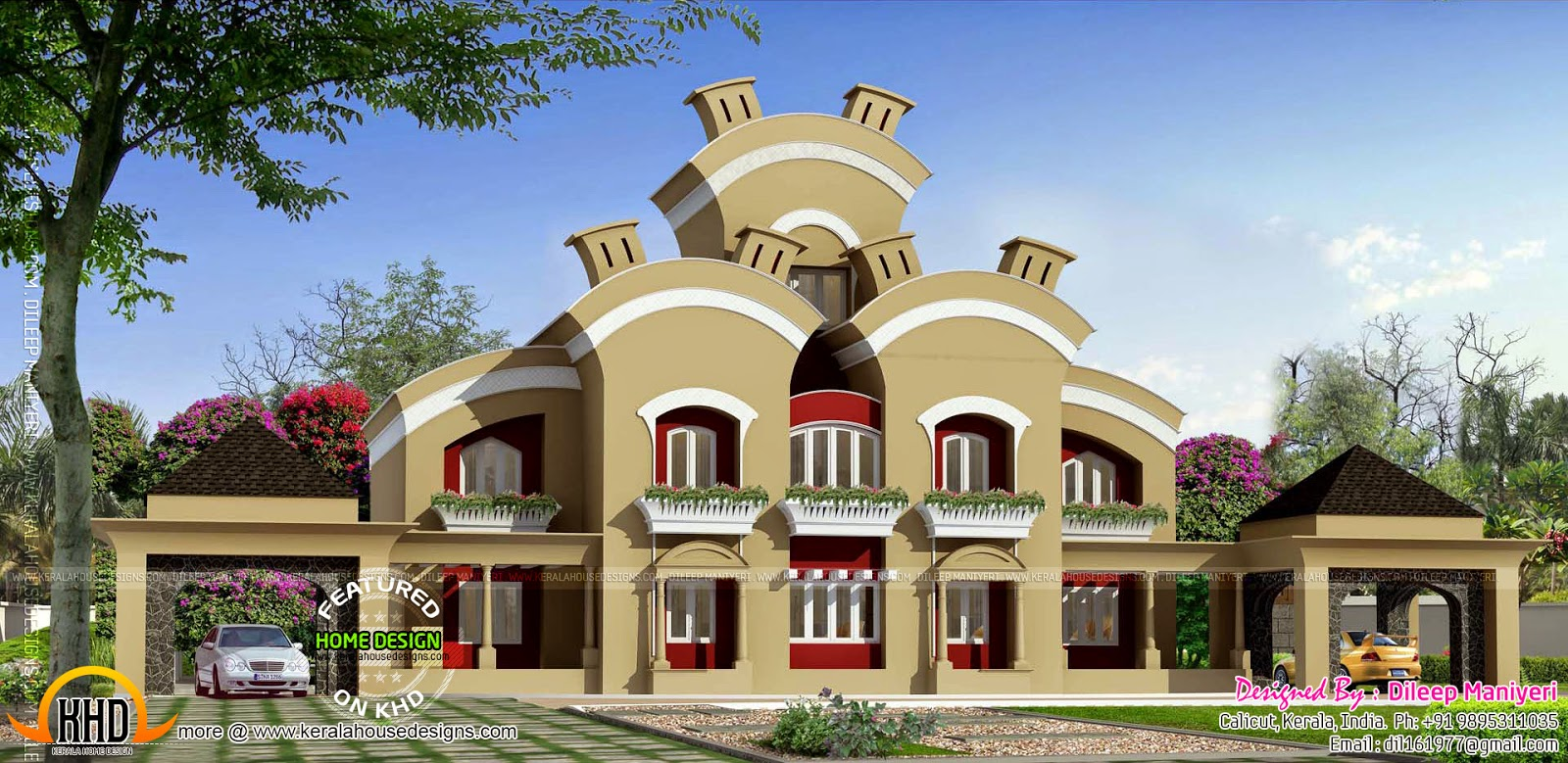 Home Design Interior Singapore Arabic Model House In India - House-of-bedrooms-style