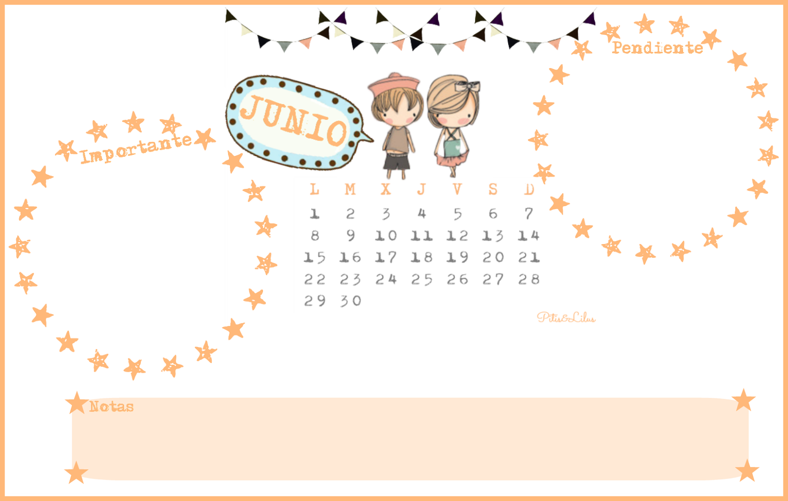 Pitis and lilus calendario imprimible y fondo pantalla for Fondo de pantalla calendario 2018