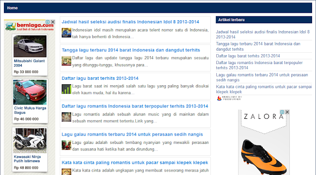 website tangga lagi musik terbaru 2014