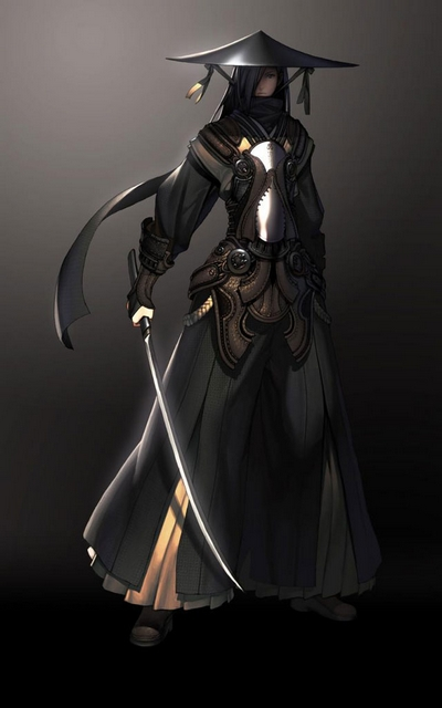 Rendered Bits Blade And Soul Character Concept Art