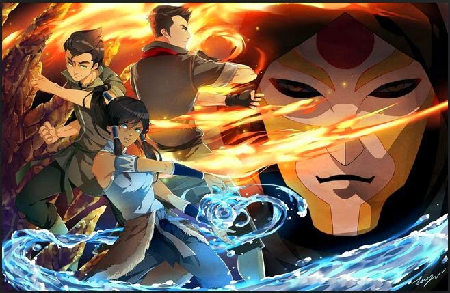 Avatar The Legend Of Korra Book 1,2,3 Subtitle Indonesia