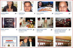 My Photo album in Face Book