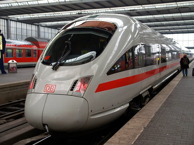 Deutsche Bahn ICE train