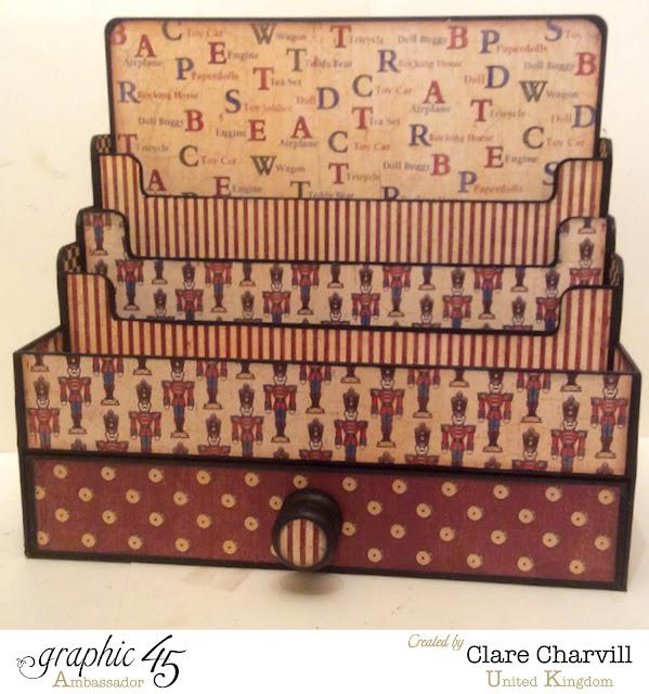 The Craft Maid My Creative Spirit Clare Chervil Graphic 45