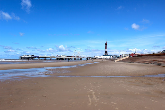 Towards The Blackpool Central Pier