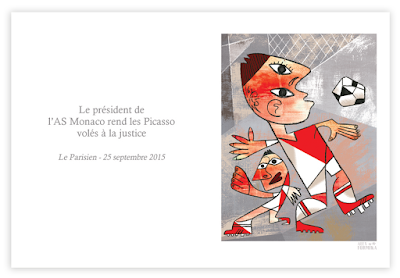 Alex Formika illustration fait divers du Parisien