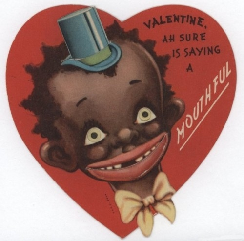 vintage everyday 15 Unbelievably Racist Vintage Valentines Day – Images of Vintage Valentine Cards