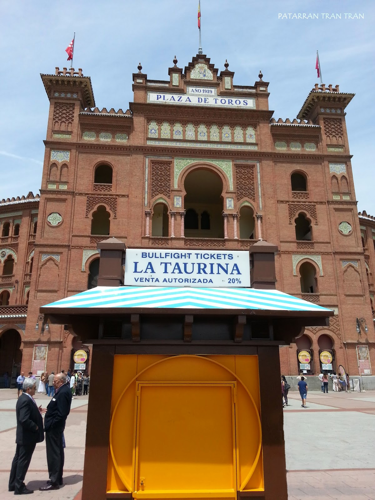 Inspeccion Tabernaria. Las Ventas. San Isidro