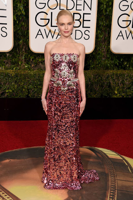 Kate Bosworth Dolce & Gabbana Golden Globes 2016