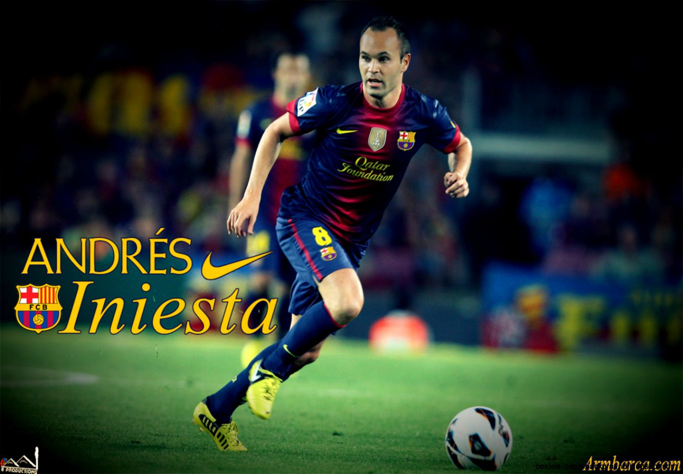 Andrés Iniesta Wallpaper HD   Soccer Desktop