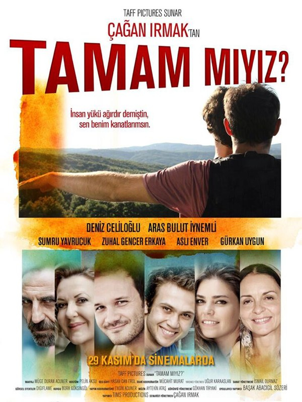 Pelicula      Tamam miyiz? (Estamos de acuerdo) 2013 online