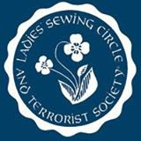 Ladies Sewing Circle and Terrorist Society Emblem