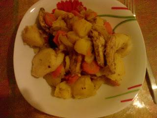 Mięso z warzywami a'la Czulent