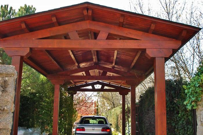 Techos de madera para exteriores casas ideas for Techos de madera para casas