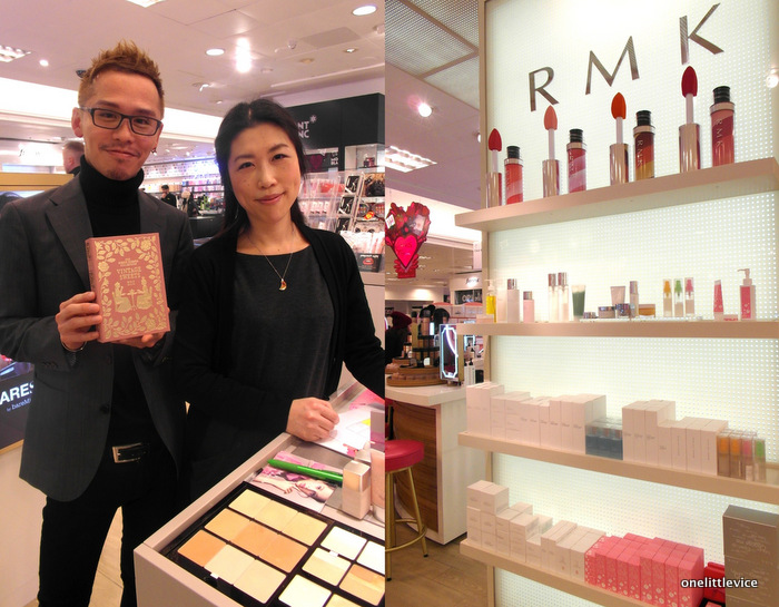 OneLittleVice Beauty Blog: RMK Vintage Sweets Release Selfridges London