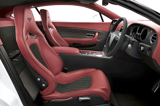 2010 Bentley Continental Supersports Interior Rear View