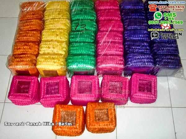 souvenir besek mika be1m Bambumika Tangerang 722489
