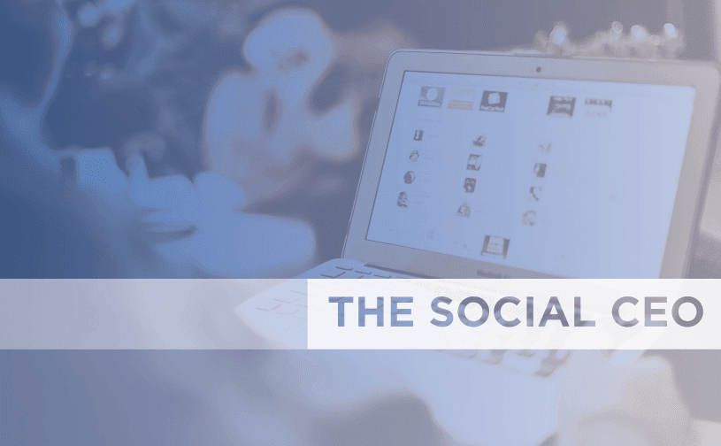 2014 Social CEO report. Are CEOs Finally Going Social?