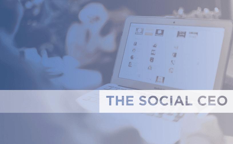 2014 Social CEO report. Are CEOs Finally Going Social?