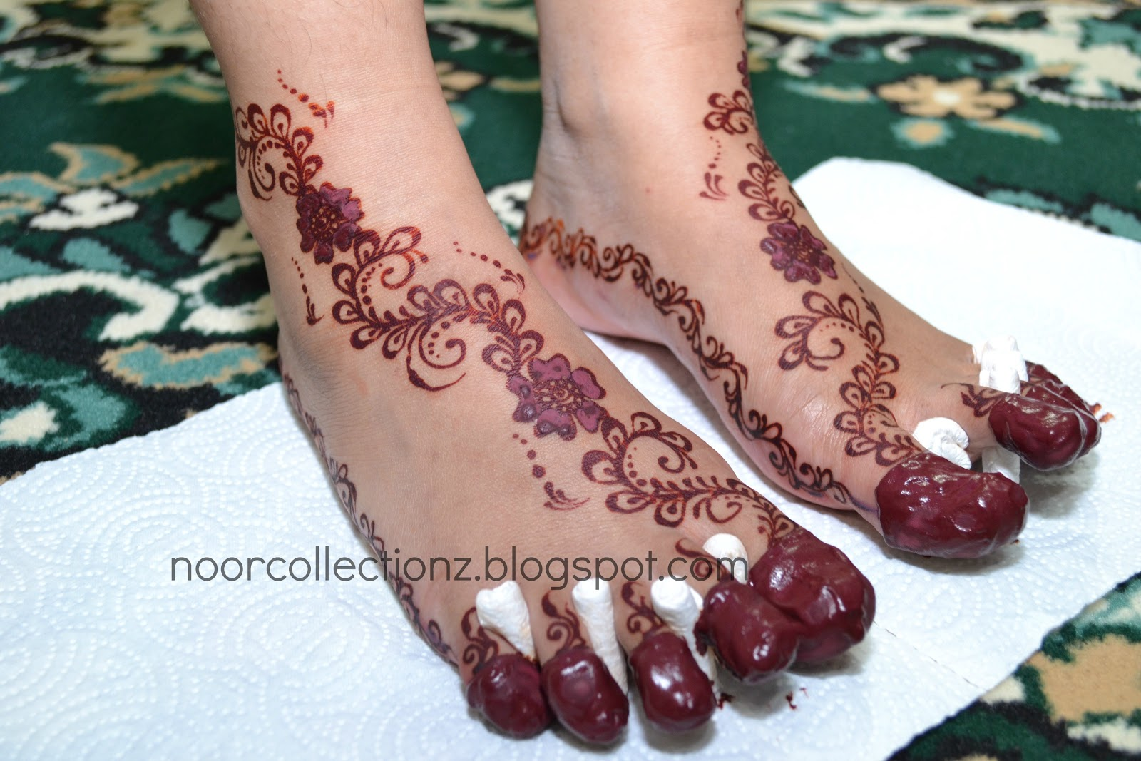 Mehndi Design Kaki : Henna kaki simple makedes