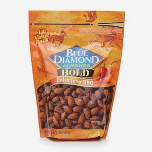 Habanero BBQ almonds bag