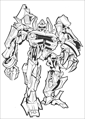 Age of Extinction Transformers Coloring Pages