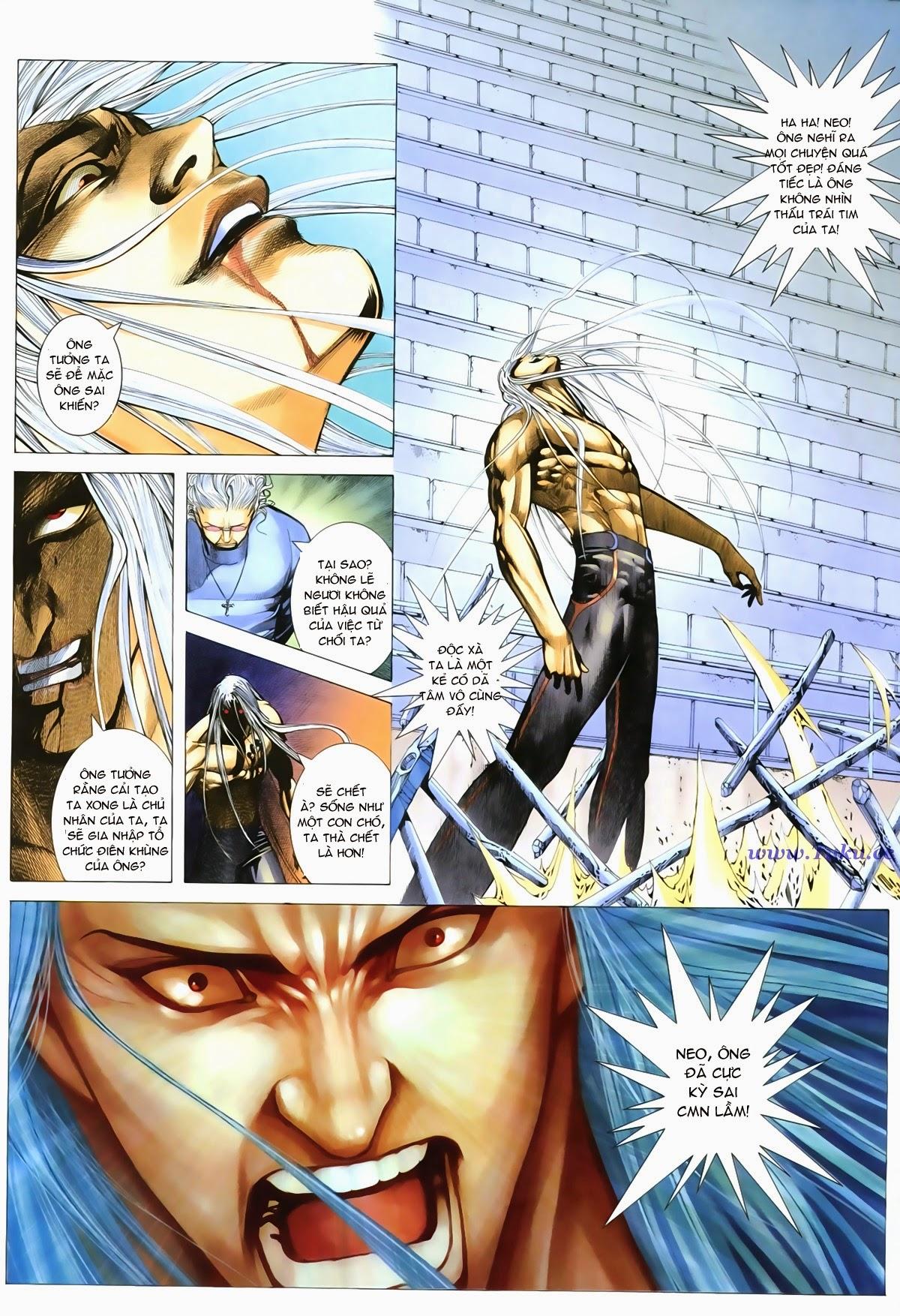Tuyệt Địa Thiên Hành chap 8 Trang 6 - Mangak.info