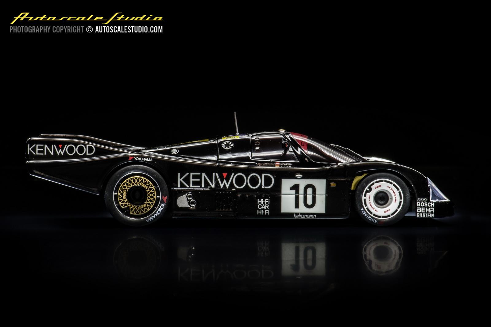KYOSHO MZX322KR Auto Scale Porsche 962 C LH  MINI-Z MR-02 LM