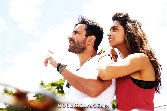 Saif Ali Khan,Deepika Padukone in cocktail - (4) - Cocktail Movie Latest 4 Stills - July 2012