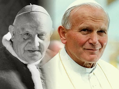 Popes John XXIII and John Paul II - April 27th