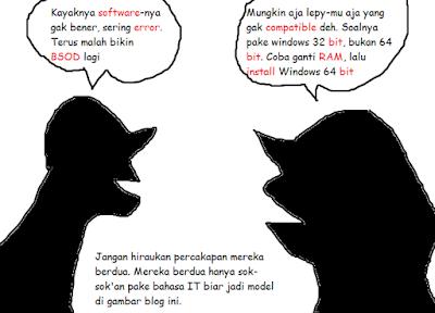 Alasan Kenapa Bahasa IT Jarang Diterjemahin Ke Bahasa Indonesia