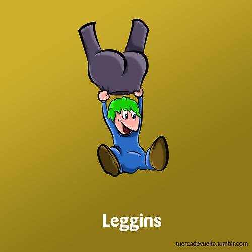 Los Lemmings sustituten los paracaídas por Leggins