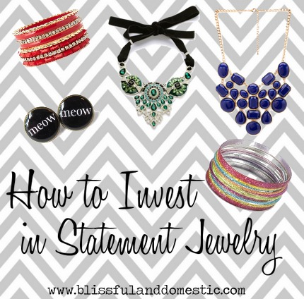 How to Invest in Statement Jewelry..